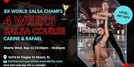 4 Week Salsa Course with Carine & Rafael tickets