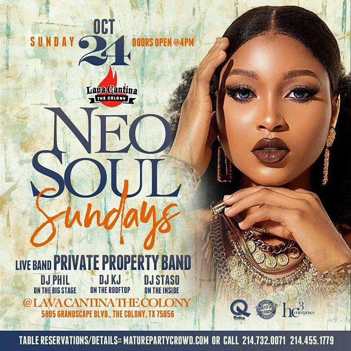 NEO SOUL SUNDAYS feat PRIVATE PROPERTY BAND image