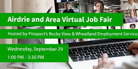 Airdrie and Area Online Job Fair tickets
