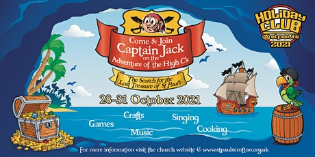 'Captain Jack' Children's Holiday Club tickets