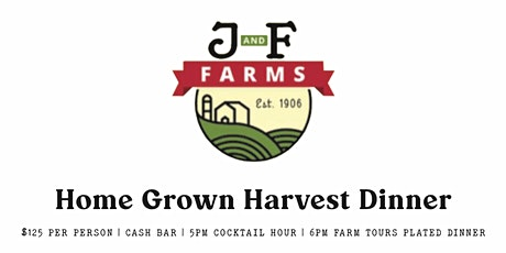 Home Grown Harvest Dinner tickets