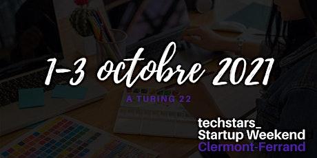 Startup Weekend Clermont-Ferrand 10/21 billets