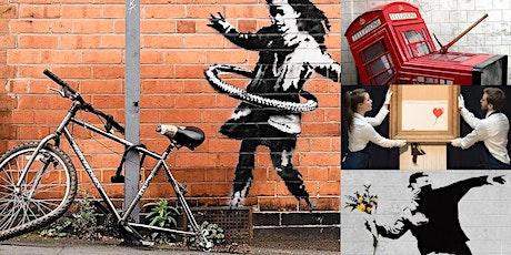 'Banksy: Decoding the World's Most Famous Street Artist' Webinar tickets