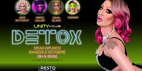 Detox drag brunch!!! tickets