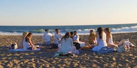 Goddess Circle~ Sunset Sound Bath at the Beach tickets
