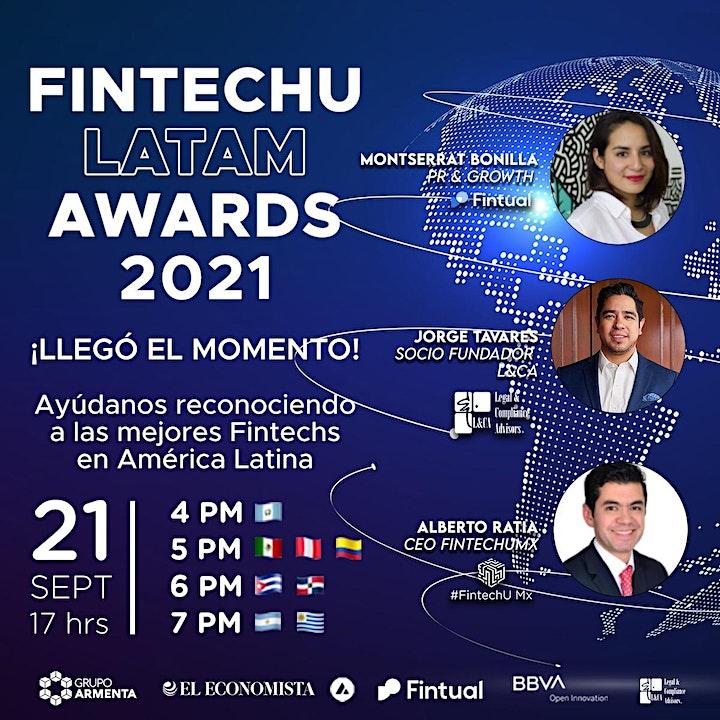 Imagen de FintechU Latam Awards 2021
