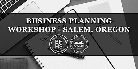 Business Planning Workshop - Salem tickets