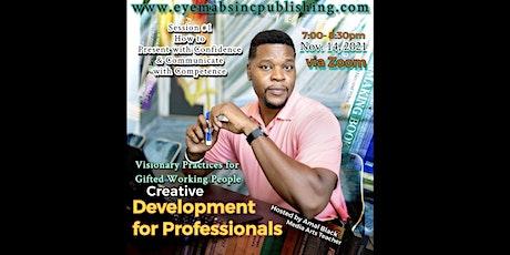Creative Professional Development tickets