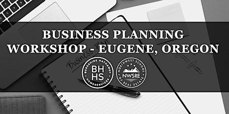 Business Planning Workshop - Eugene tickets