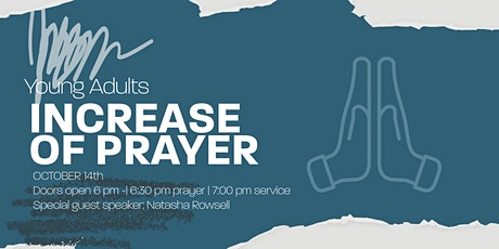 YA Monthly Celebration - Increase our Prayer tickets