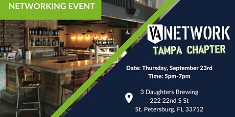 Networking with Tampa VA Network tickets