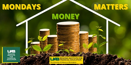 Monday Money Matters Series - Your Savings tickets