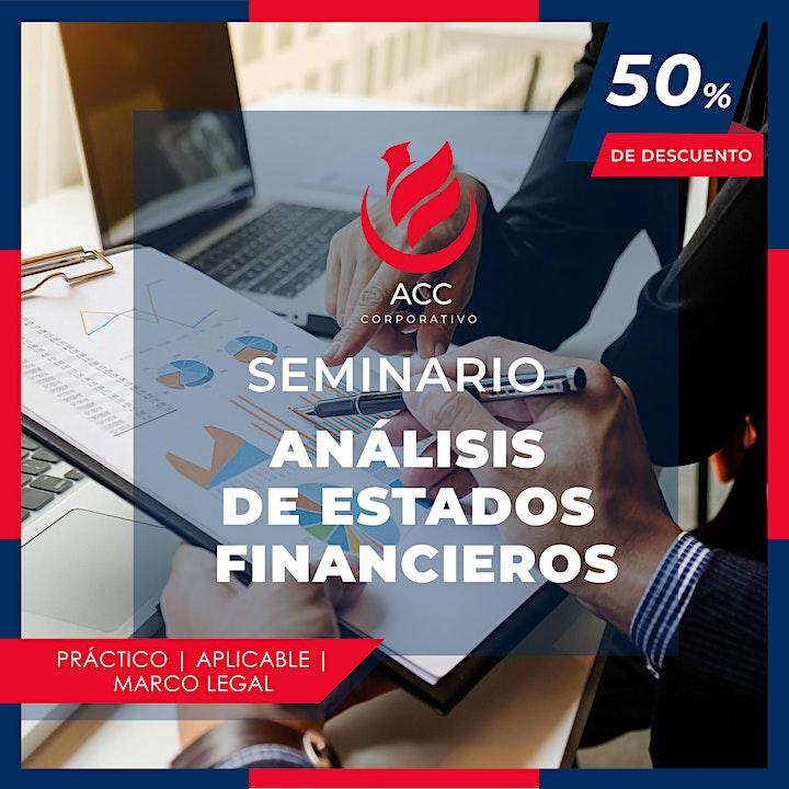 Imagen de SEMINARIO ANÁLISIS DE ESTADOS FINANCIEROS