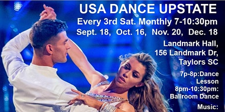 USA Dance Upstate - 3rd Saturday Monthly tickets