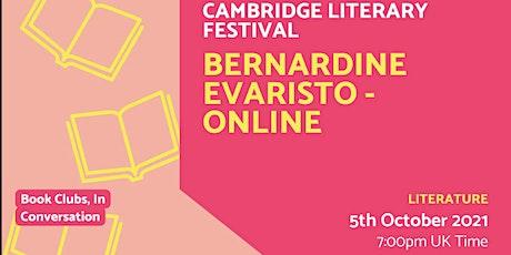 Bernardine Evaristo - Online entradas
