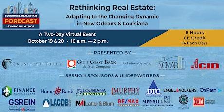 2021 Economic & Real Estate Forecast Symposium tickets