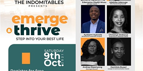 Emerge & Thrive: Step into your best life tickets