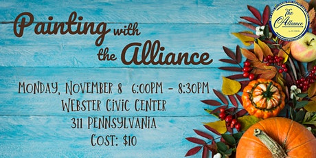 Painting with the Alliance November 8, 2021 tickets