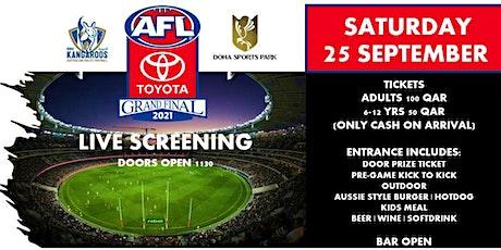 AFL Grand Final 2021 tickets