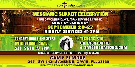 Messianic Sukkot Sept 20-27 tickets