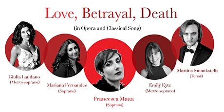 Love, Betrayal, Death (in Opera & Classical Song) tickets