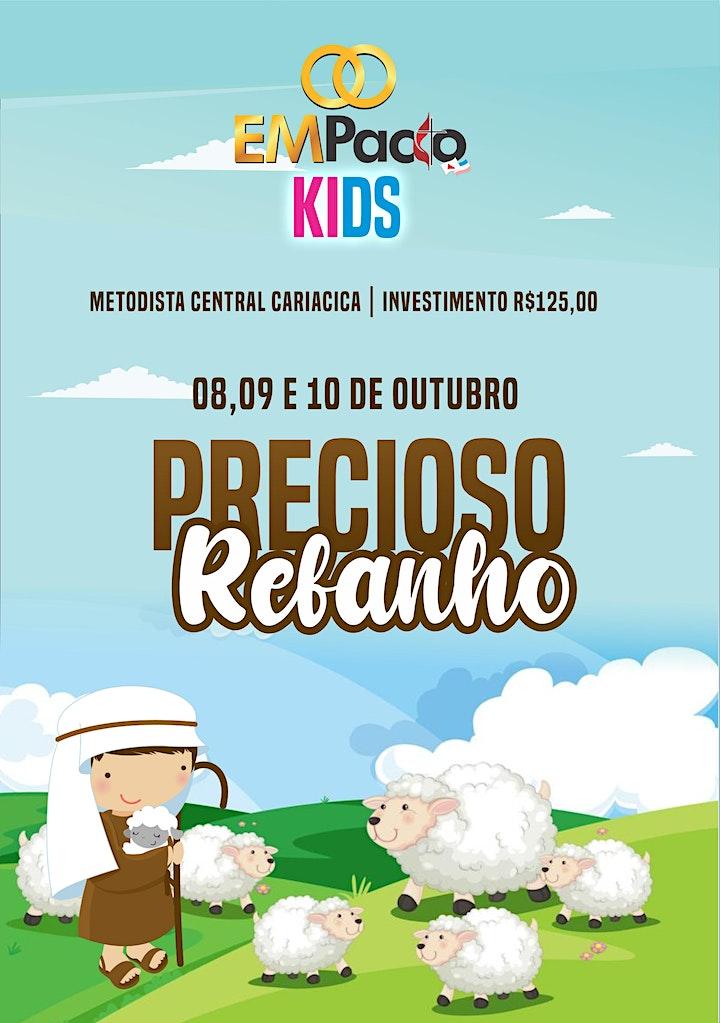 Imagem do evento EMPACTO KIDS - PRECIOSO REBANHO