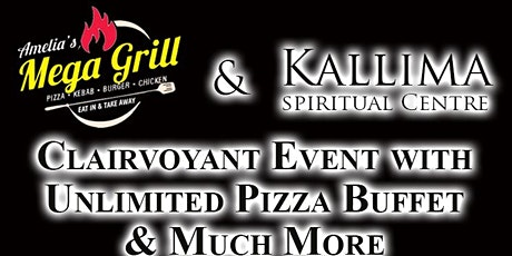 Psychic Supper, 1-2-1 Reading , Unlimited Pizza Buffet with 2 Drinks tickets