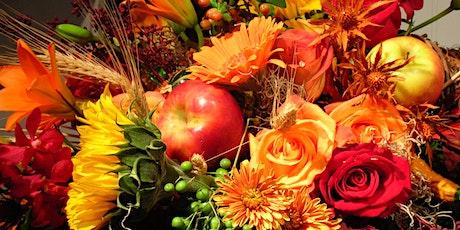 Backyard Florist Welcomes Fall tickets
