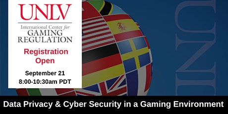 Data Privacy & Cyber Security in a Gaming Environment tickets