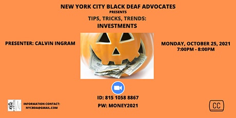 NYCBDA - LAST MONDAY OF MONTH: TIPS, TRICKS, TRENDS tickets