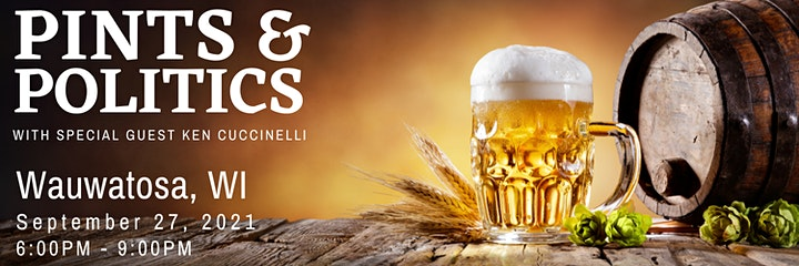 Pints and Politics with Special Guest Ken Cuccinelli image