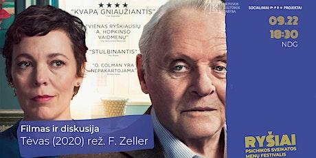RYŠIAI   Filmas ir diskusija   Tėvas (2020) rež. F. Zeller tickets