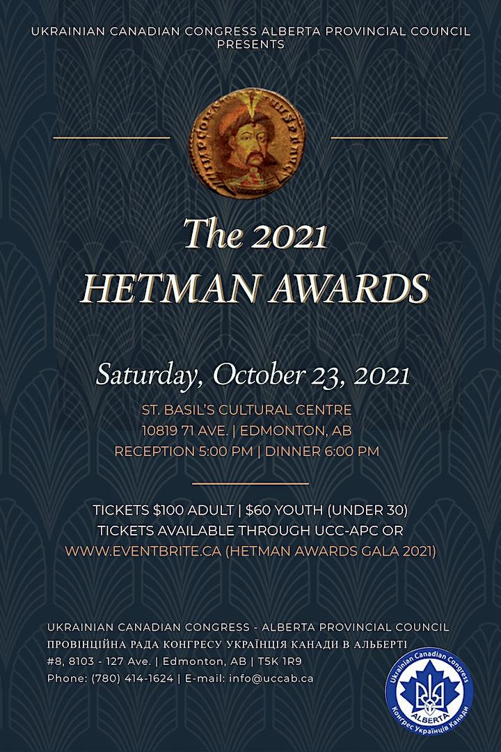 Annual Hetman  Awards 2021 image