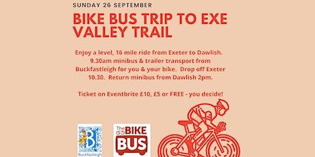 Buckfastleigh Bike Bus Trip to Exe Valley Trail tickets