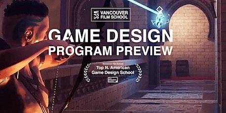 VFS Game Design Program Preview tickets