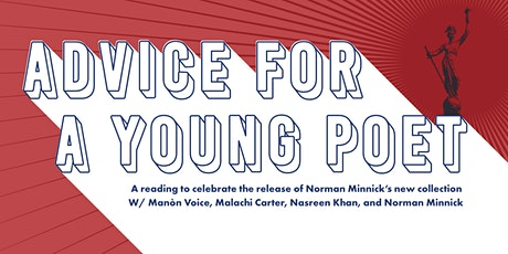Advice for a Young Poet: Reading and Celebration tickets