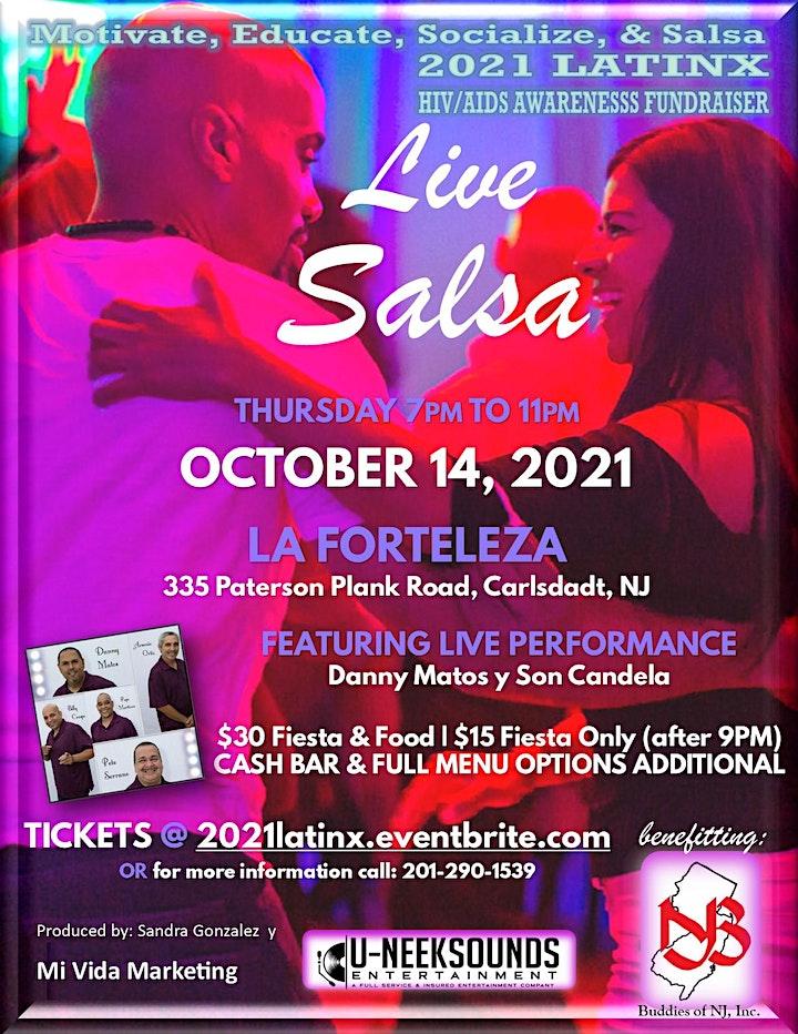 Motivate, Educate, Socialize & LIVE Salsa image