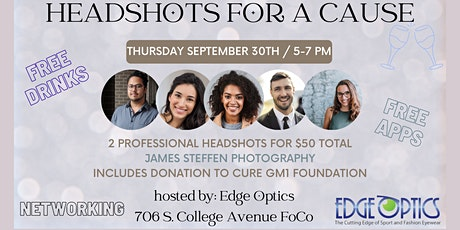 Headshots for a Cause tickets