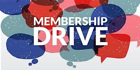2021 Membership Drive tickets