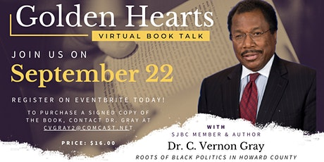 Golden Hearts: Book Talk w/ C. Vernon Gray tickets