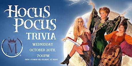 Hocus Pocus(2)  Trivia at Majestic Gilbert tickets