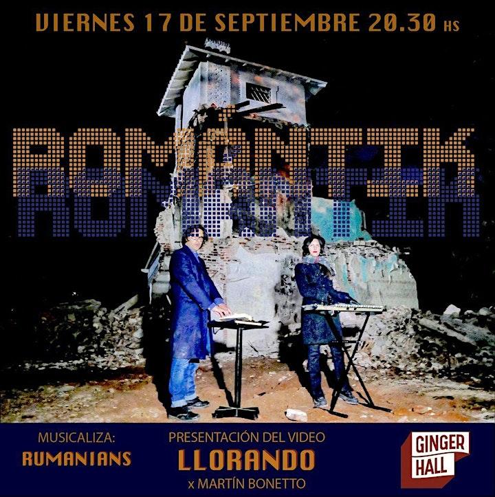 Imagen de Romántik presenta 'Llorando' con un videoclip de Martín Bonetto