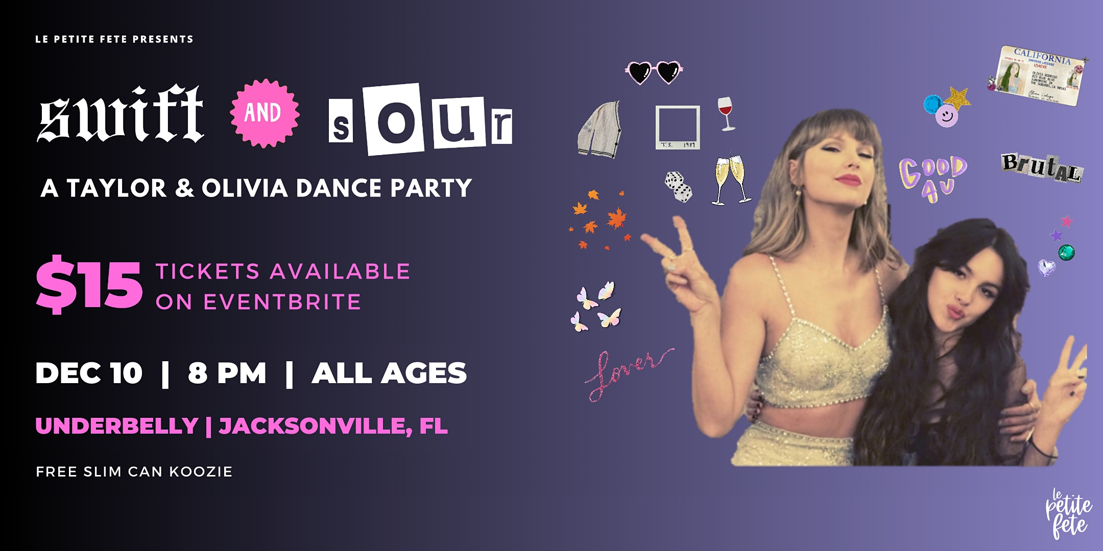 Swift & Sour: A Taylor & Olivia Dance Party in Jacksonville