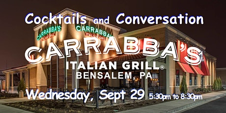 No Cover ~ Carrabbas ~ Bensalem, PA ~ Happy Hour ~ ticket required tickets