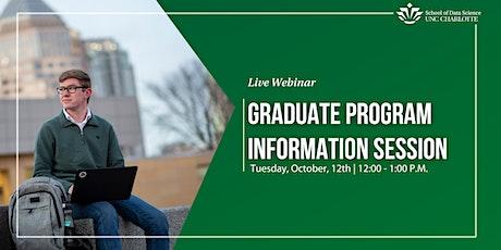 DSBA & HIA Graduate Programs  Virtual Information Session tickets
