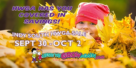 Copy of HWGA Indy South Kid's Consignment Sale Opening Day tickets