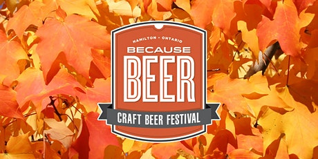 Because Beer Harvest Edition Saturday DESIGNATED DRIVER tickets