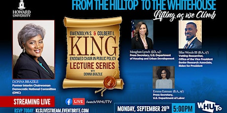 The King Lecture Series : FROM THE HILLTOP TO THE WHITE HOUSE tickets