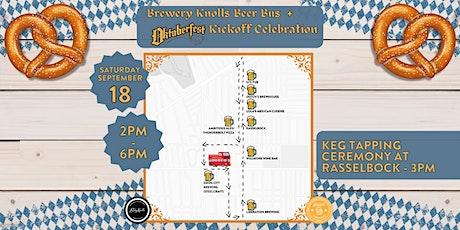 Brewery Knolls Beer Bus + Oktoberfest Kickoff Celebration tickets