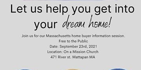 First Time Home Buyers Info Session MA tickets
